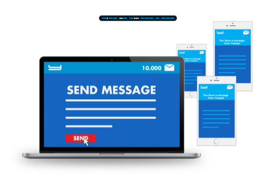 Communicate with SMS, reach more customers, increase revenue, grow your business.